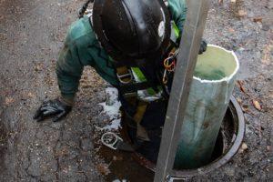 IVIS does custom sewer work